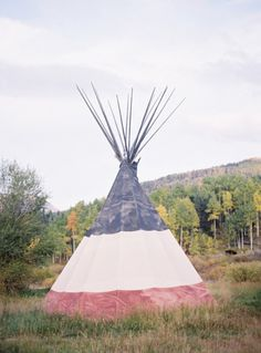 Because some days you just need a tepee