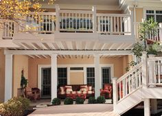 two story decks with stairs | Babcock Lumber Company - Working To Be Your Supplier of Choice™ for ...