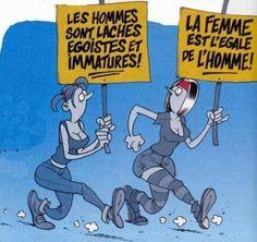 Menn er slappfisker, egoistiske og umodne! Kvinnen er lik(estilt) mannen!