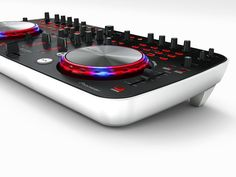 Pioneer DJ Controller DDJ-ERGO-V Pioneer unveils its ultra-compact controller, the DDJ-ERGO, giving any music enthusiast the ability to make their own unique music mixes. Audio Music, Audio Sound, Dj Music, Sound Of Music, Pioneer Dj Decks, Pioneer Dj Controller, Dj Kit, Pioneer Ddj, Dj Setup