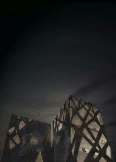 Night Render - TOD's Building Tokyo Japan