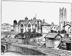 Image result for Hurst Mill Ashton under Lyne 1862