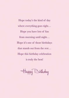 190 Free Birthday Verses For Cards Greetings and Poems For Friends Birthday Wishes For A Friend Messages, Birthday Verses For Cards, Happy Birthday Quotes For Friends, Birthday Card Sayings, Birthday Greetings, Birthday Poems, Free Birthday, Birthday Cards, Self Birthday Quotes