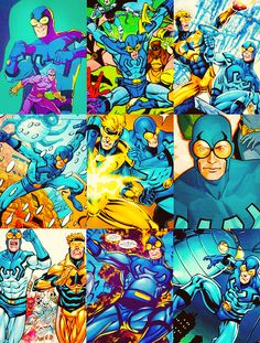Ted Kord Blue Beetle Photoset