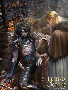 "McLeod the Everdying  for ""Legend Of The Cryptids""  (LoTC) by  Shunsuke Akagi  (akagiund) Illustrator"