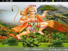 Hanuman Wallpaper 3D  Android App - playslack.com ,  This is a beautiful high quality live wallpaper of Shri Hanuman.Effect provided-full HD image of Hanuman ji........Beautiful background with mountains.......Nautral feeling of trees and scenery....moving cloud........Ram name.....On touch screen........... Hanuman is one of the many deities of the Hindu tradition. He is regarded as the monkey-general of a mythic monkey kingdom, known as Kiskindha. In Hindu tradition, Hanuman is most…