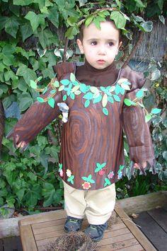 Disfraces fáciles con foam: Disfraz de árbol: Un árbol encantador