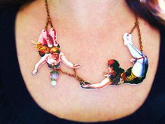 Statement Jewelry Valentine Circus For Her by whatanovelidea, $39.00