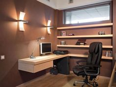 Wall Mounted Corner Desk