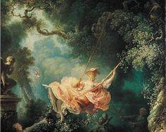 The Swing - Jean-Honore Fragonard - 1767