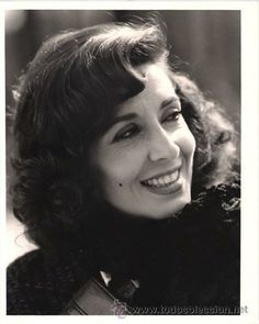 CONCHA VELASCO actriz de cine, teatro y tv. N.en Valladolid en 1939