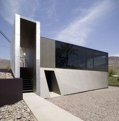 moderner Minimalismus-Hausarchitektur