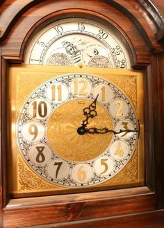 Item 2 Grandfather Clock Made In Germany For