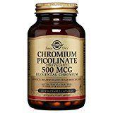 #healthyliving Solgar Chromium Picolinate Vegetable Capsules 500 Mcg 120 Count