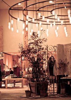 Anthropologie Storefront - Vintage lightbulbs