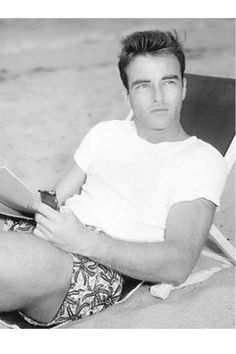 With the news that HBO has gotten behind a biopic on Montgomery Clift starring Matt Bomer, it seems like the perfect time to remind people about this Hollywood Hollywood Men, Hollywood Icons, Golden Age Of Hollywood, Vintage Hollywood, Hollywood Stars, Hollywood Glamour, Classic Hollywood, Hollywood Poster, Montgomery Clift