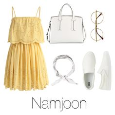 """""""Summer outfit with Namjoon"""" by infires-jhope on Polyvore featuring Chicwish, Uniqlo, Retrò and French Connection"""
