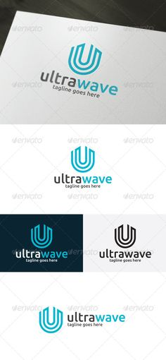 Ultra Wave � Letter U - Logo Design Template Vector #logotype Download it here: http://graphicriver.net/item/ultra-wave-logo-letter-u/6814220?s_rank=897?ref=nexion