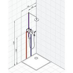 Plumbing Drains, Shower Taps, Bathroom Plumbing, Bathroom Spa, Bathroom Layout, Bathroom Interior Design, Small Bathroom, Shower Installation, Plumbing Installation