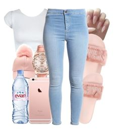 """"""""""" by honey-cocaine1972 ❤ liked on Polyvore featuring Evian and Rolex"""