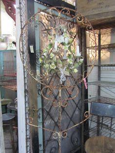 antique bird cage stand!