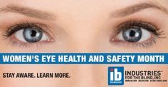 April Is Women Eye Safety Month Eye Safety, Business Intelligence, Health And Safety, Eyes, Women, Cat Eyes, Woman