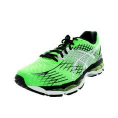 Asics Men's Gel-Nimbus 17 Flash//White/Black Running Shoe
