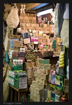 Boutiques, Shabby Chic Shops, Aleppo Soap, Naher Osten, French Soap, Savon Soap, Luigi, Soap Display, Displays