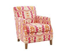 Patterned Chair - The High/Low Shopping Guide on HGTV