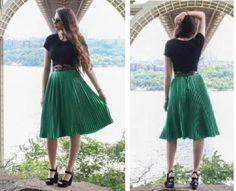 EVERYDAY SEW: ΡΑΒΩ ΠΛΙΣΕ ΦΟΥΣΤΑ ΣΕ ΜΙΑ ΩΡΑ Skirt Tutorial, Oras, Midi Skirt, Tutorials, Skirts, Diy, Fashion, Sewing, Moda