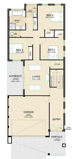 Virage house plan sample