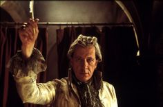 """The Marquis de Sade played by Geoffrey Rush in """"Quills"""" (2000), based on the play of the same name by Doug Wright, inspired by the life and work of the Marquis de Sade."""