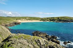 Lossit Bay in the Sun, Isle of Islay