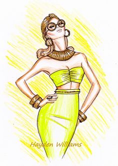 Gorge! Doesn't this remind you of a young Sophia Loren??? cc: @Hayden_Williams