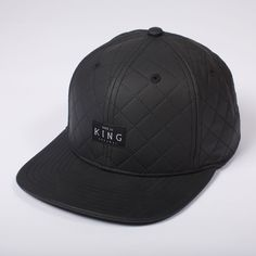 Black Snapback Cap | King Apparel - British Streetwear