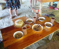 A homemade Mayan feast! We made the tortillas, and the chocolate atole from scratch! Everything from within 2 miles of the kitchen talk about local! With Cayequest Tours.