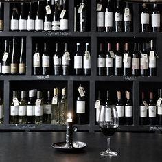 Copenhagen Photo Tour: Malbeck Vinoteria | This rustic but elegant wine bar is a perfect spot for a Friday night glass of wine.