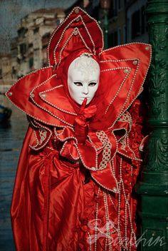"Extra Large Art Print ""Conspirators"" 13""x19"" - Venetian Carnival Photography"