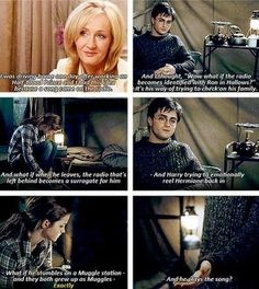 Jk Rowling on the radio/dance scene