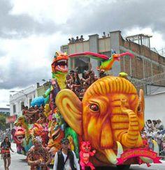 PASTO, NARIÑO, COLOMBIA. Carnaval de Negros y Blancos de San Juan de Pasto, Nariño, Colombia. 6 ene 2014. Foto: Cortesía de Ruth Estrada Tobar, para IPITIMES.COM /Artur Coral /New York.