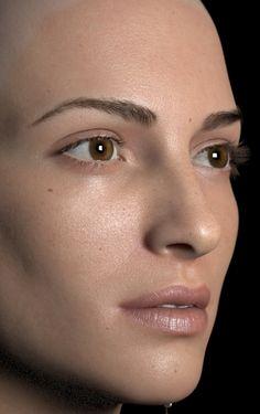 Wonderful Woman Realistic 3D Art by Luc Begin – zbrushtuts