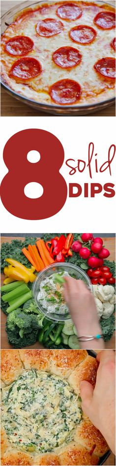 8 Easy Party Dips | Here Are 8 Incredible Dips That Are Perfect For A Last Minute Party