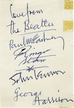 Autographs of The Beatles: http://dunway.com