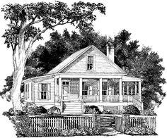 Gresham Creek Cottage Moser Design Group Southern