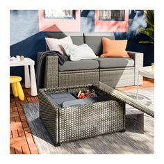 Shop IKEA's wide selection of outdoor accessories, balcony furniture, and patio furniture. Shop looks for any size outdoor space. Outdoor Furniture Sets, Furniture, Outdoor Sectional Sofa, Resin Patio Furniture, Gray Patio Furniture, Ikea Patio, Ikea Outdoor, Outdoor Furniture, Ikea Patio Furniture