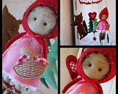 Nursery mobile Little Red Riding Hood
