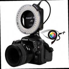 41.06$  Buy now - http://ali0bp.worldwells.pw/go.php?t=32512250030 - Original Brand Aputure AHL-HN100 CRI 95 + LED Macro Ring Flash Light for Nikon DSLR Camera Dropshipping 41.06$