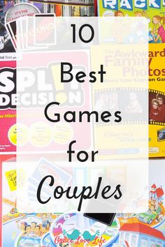 Whether you are Christmas shopping for someone else or just looking for a good game to play with your spouse. Here are 10 of the best games for couples to play. #ad