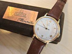 Vintage Omega 18 karat gold - on auction...