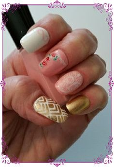 Gisele's Nails: UberChic Love and Mariage Plate 1